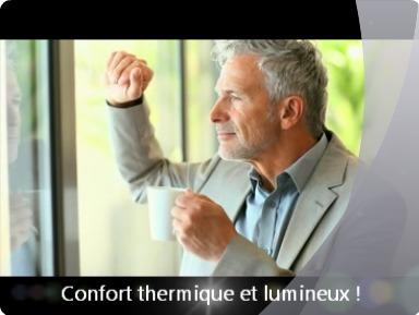 Confort thermique et lumineux, film de protection solaire