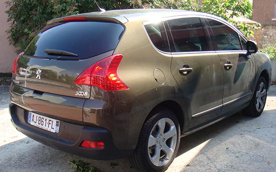 Peugeot 3008 marron, Esthétique vitres teintées, Confort Glass à Sathonay-Camp, Lyon