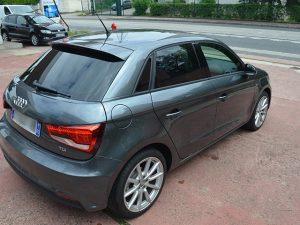 Vitres teintées Audi grise