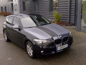 Vitres teintées BMW noire