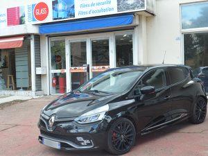 Vitres teintées Renault Clio noire