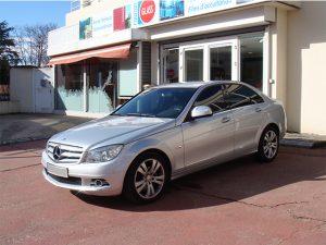 Vitres teintées Mercedes grise