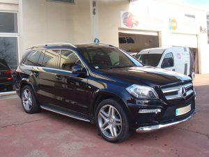 Vitres teintées Mercedes noire