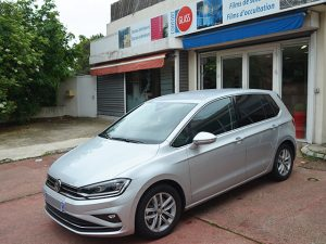 Vitres teintées Volkswagen grise