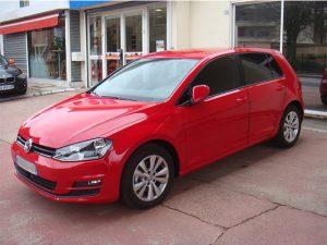 Vitres teintées Volkswagen rouge