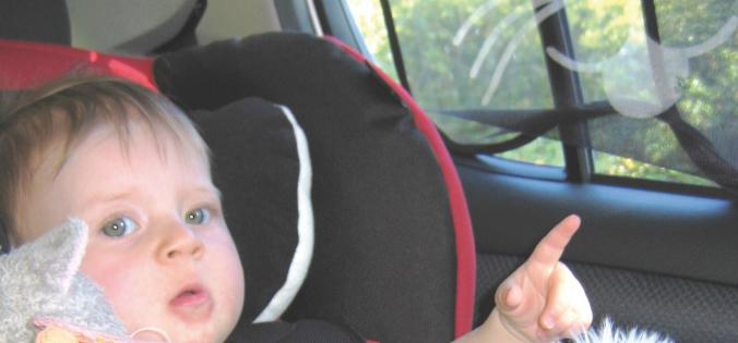 Chaleur voiture, ne laissez pas les enfants seuls, film contrôle solaire, automobile