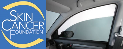 Film de contrôle solaire anti uv, film anti-uv automobile, Skin cancer foundation