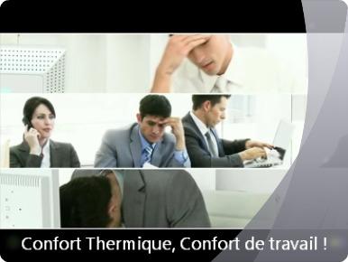 Film anti-éblouissement, Bâtiment, Confort thermique, Confort de travail