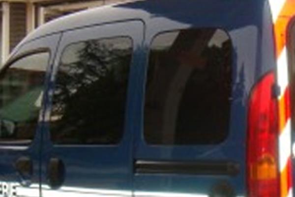 Vitres sécurisées Film de Sécurité anti-caillassage voiture gendarmerie