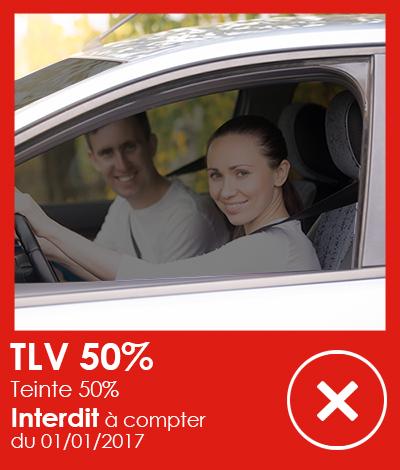 Réglementation automobile, Vitres teintées TLV 50%, Réglementation vitres teintées automobile