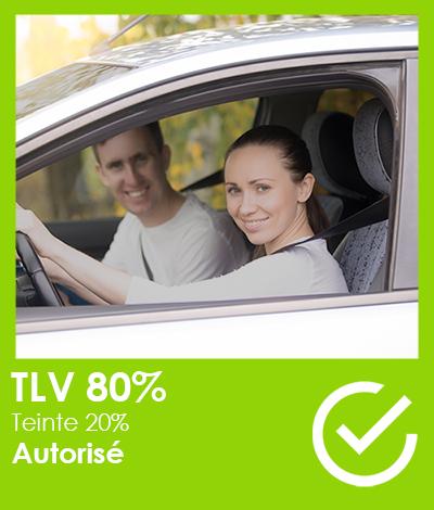 Réglementation automobile, Vitres teintées TLV 80%, Réglementation vitres teintées automobile