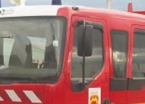 Vitres sécurisées Film de Sécurité anti-carjacking, camion pompiers