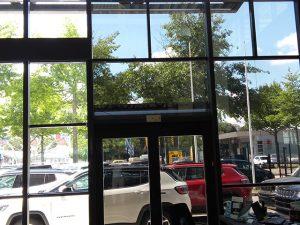 Bâtiment, film vitrage contrôle solaire, Confort Glass Caluire, Lyon