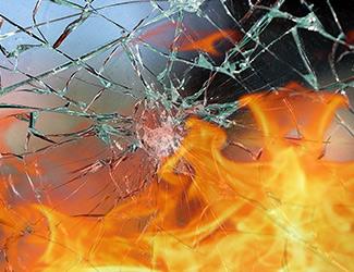 Bâtiment, film pour vitrage, protection feu, Confort Glass Caluire, Lyon