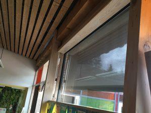 Bâtiment, stores enrouleurs extérieurs, Confort Glass Caluire, Lyon
