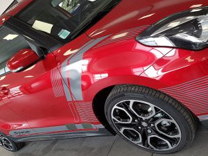 Covering car-wrapping Suzuki Swift, Confort Glass Caluire, Lyon