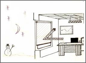 Stores film, Stores intérieurs, pour Bâtiment, Confort Glass à Caluire, Lyon