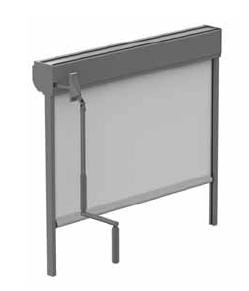 Store Box Guidage renvoi manivelle, Stores extérieurs, pour Bâtiment, Confort Glass à Caluire, Lyon