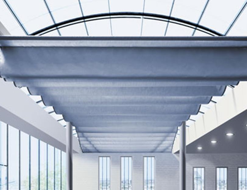 Stores zénital, Stores zénithal, Stores intérieurs, pour Bâtiment, Confort Glass à Sathonay-Camp, Lyon