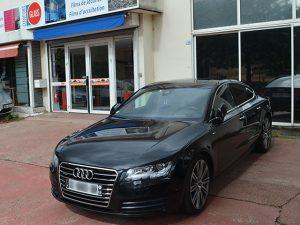 Vitres teintées automobile Audi, Confort Glass Caluire, Lyon