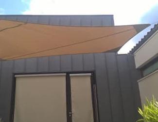 Voile d'ombrage sur mesure, pour le Bâtiment, Confort Glass à Sathonay-Camp, Lyon