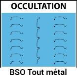 Brise soleil occultation tout métal, brise soleil tout métal, pour Bâtiment, Confort Glass à Caluire, Lyon