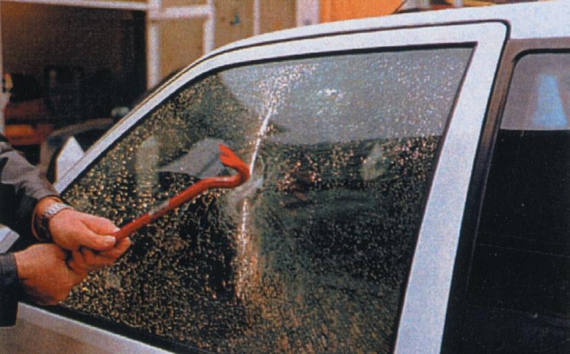 Film sécurité vitrage automobile, Confort Glass, Caluire, Lyon