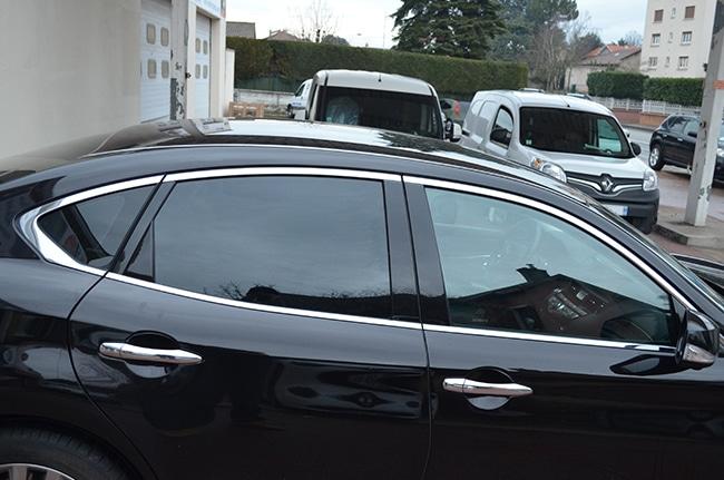 Film de sécurité et film solaire vitres teintées, automobile, Caluire, Lyon, Infinity