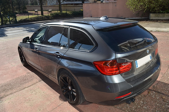 Vitres teintées BMW Série 3, Confort Glass, Caluire, Lyon, Automobile et Bâtiment