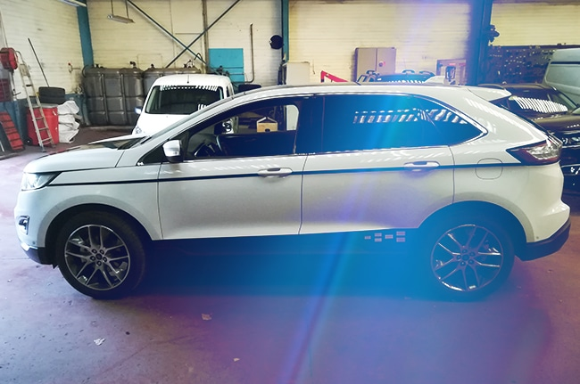 Covering Ford Edge, car-wrapping, Confort Glass, Automobile, Caluire, Lyon