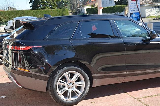 Land Rover Velar, vitres teintées automobile, Confort Glass, Sathonay-Camp, Lyon