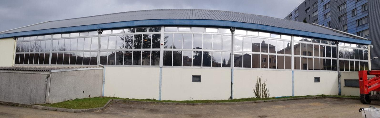 Silver 20 OSW, film solaire extérieur, Confort Glass Bâtiment, Caluire, Lyon, film solaire