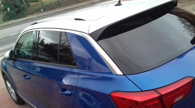 Volkswagen T-ROC, vitres teintées, 3/4 arrière, Confort Glass Caluire, Lyon