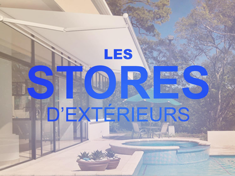 Stores d'extérieurs, Confort Glass Bâtiment, Sathonay-Camp, Lyon