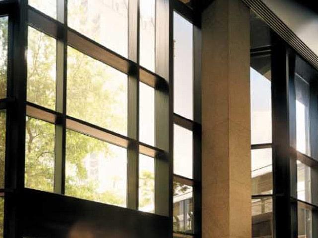 Éblouissement bureaux, Confort Glass Bâtiment Sathonay-Camp, Lyon