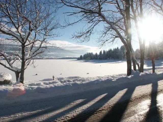 Éblouissement neige, Confort Glass Bâtiment Sathonay-Camp, Lyon