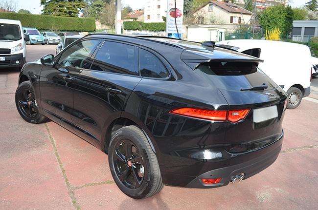 Jaguar F-PACE, vitres teintées automobile, Confort Glass Sathonay-Camp, Lyon