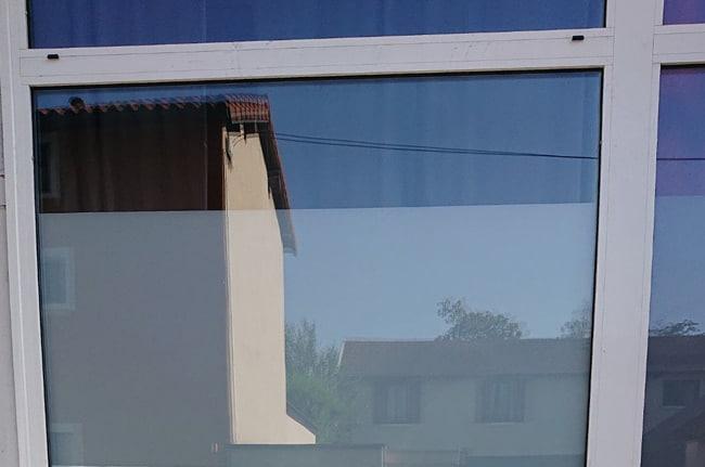 Pose de film dépoli sur vitrage, Confort Glass Bâtiment, Caluire, Lyon