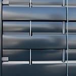 Brise soleil orientables, BSO, guidage coulisses, Confort Glass Bâtiment, Sathonay-Camp, Lyon, région Rhône-Alpes