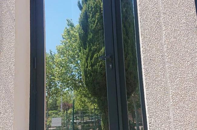 Film solaire Silver20 OSW, film de protection solaire, Confort Glass Bâtiment, Caluire, Lyon, région Rhône-Alpes