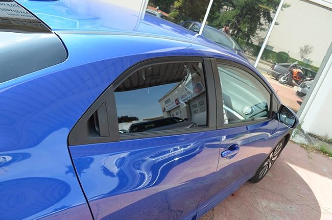Vitres teintées Honda Civic, Confort Glass Automobile, Sathonay-Camp, Lyon, région Rhône-Alpes