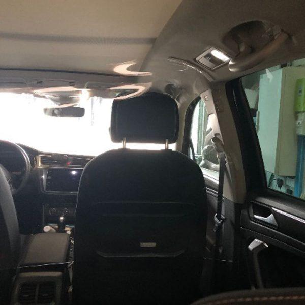 Safe passengers Confort Glass, film de protection covid-19 pour véhicule, protection sanitaire, kit passagers arrières, anti-crachats, anti-postillons