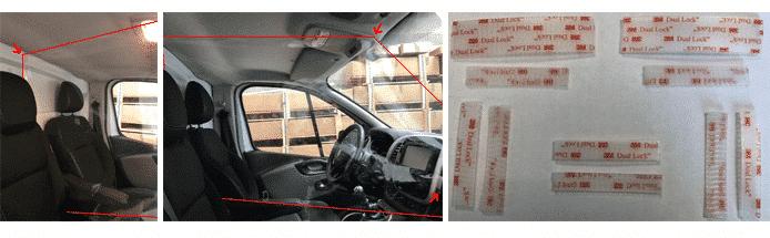 Manuel d'utilisation, kit de protection covid-19, coronavirus, pour véhicules professionnels, taxi, VTC, auto-école, Safe passengers