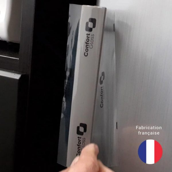 Poignée frigo, SkinClear-Film, Film de protection antimicrobien, anti covid19