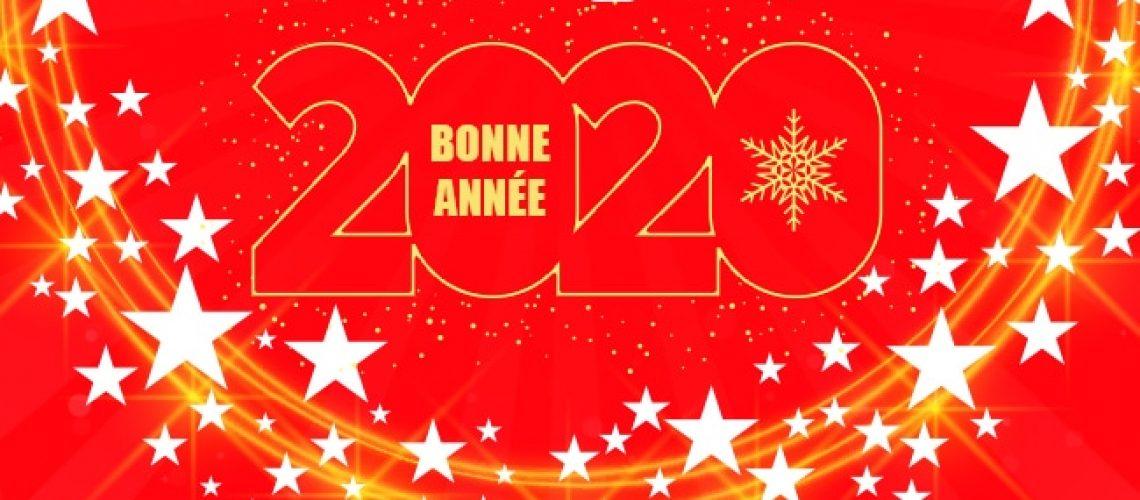 Bonne année 2020, Confort Glass Caluire, Lyon, région Rhône-Alpes