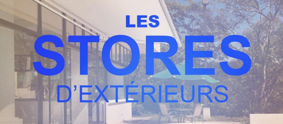 Stores d'extérieurs, Confort Glass Bâtiment, Caluire, Lyon