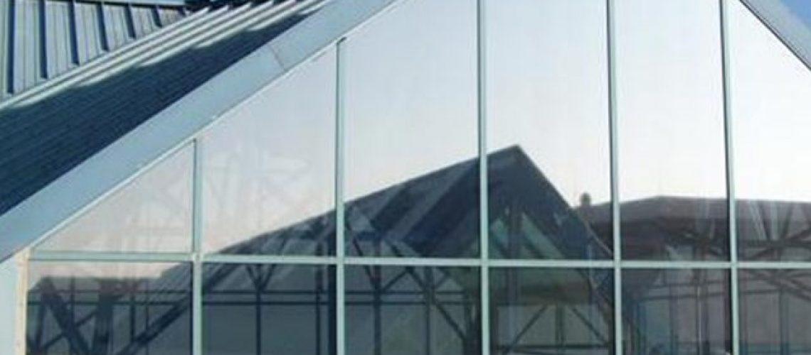 Film anti éblouissement, protection solaire, Confort Glass Bâtiment Sathonay-Camp, Lyon