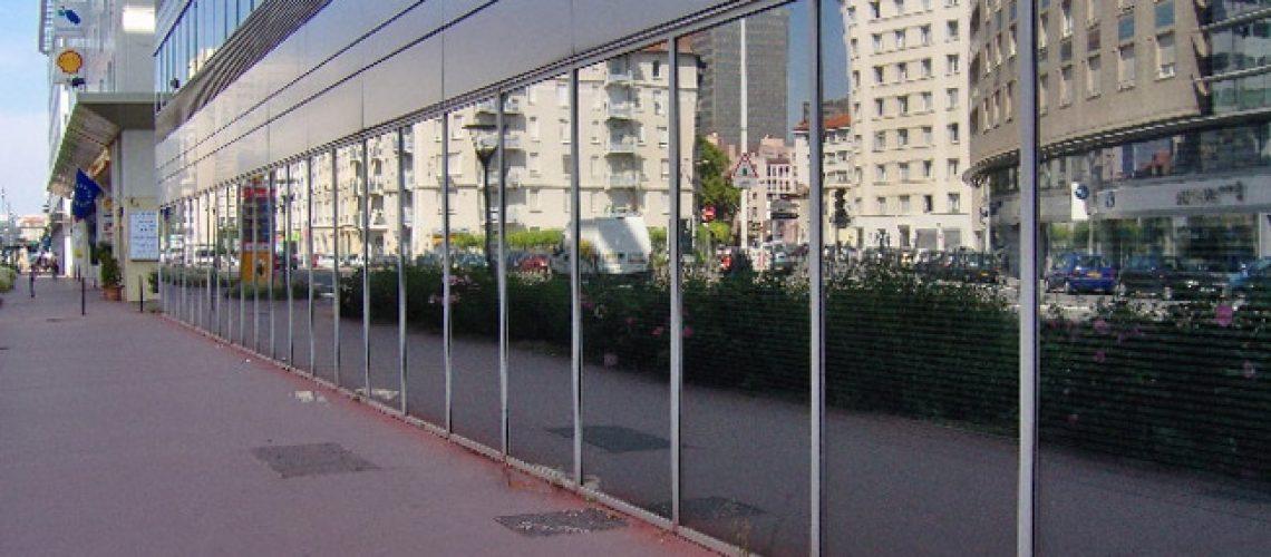 Film solaire pour vitrage, Confort Glass Bâtiment, Sathonay-Camp, Lyon, région Rhône-Alpes