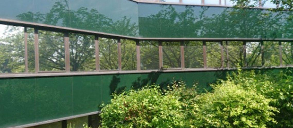 Film solaire vitrage bâtiment, Silver 20 OSW, Film solaire pour vitrage, Confort Glass, Sathonay-Camp, Lyon
