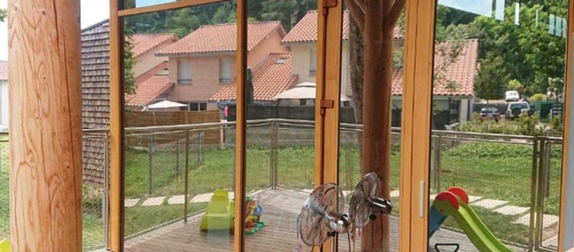 Film solaire vitrage Silver 35 OSW, Confort Glass Sathonay-Camp, Lyon, région Rhône Alpes.